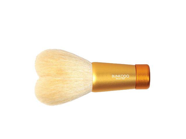熊野筆化粧筆ハート洗顔ブラシ