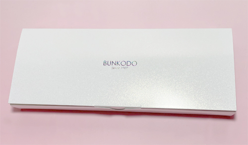 熊野筆化粧筆bunkodo白パール化粧箱